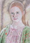 Ginny Weasley In Colour by ChazyChaz