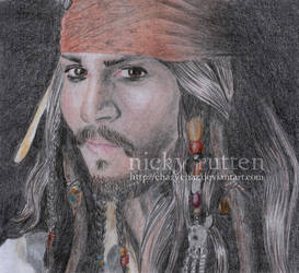 Johnny Depp - He's A Pirate