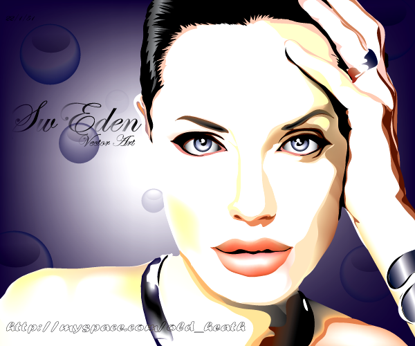 angelina Jolie by sw-eden