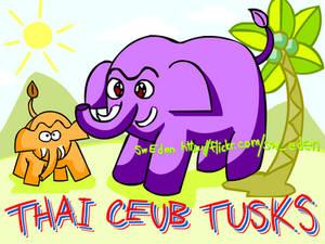 thai ceub Tusks