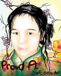 Proud A. illustrator flower