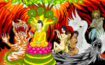 Before Enlightenment of Buddha