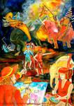 War Elephant with King Tabinshwehti