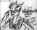 Ultraman Zero, kid of Window 7