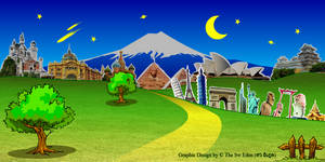 backdrops for party at night Version 3