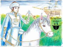 Saw Binnya on Horse by sw-eden