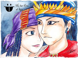 Prome Princess and Arakan King by sw-eden