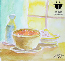 Thai Food Watercolor by sw-eden