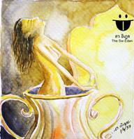 Zanda Dewi in the Giant Jar by sw-eden