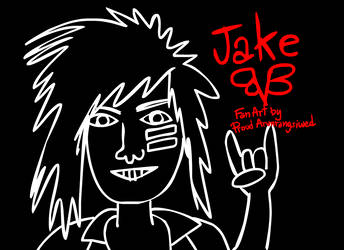 Jake Pitts Black Veil Brides Fan Art by sw-eden