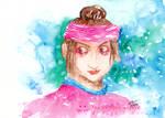 Portrait of Smin Bayan of the Sw Eden