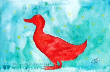 Red Duck Or Stallion duck