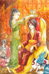 King Tabin Tabinshwehti coronation in Ava