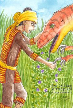 King Tabin Tabinshwehti and Raptor Dinosaur