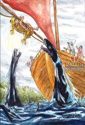 King Tabin Tabinshwehti and Nothosaurus