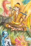 King Tabin Tabinshwehti and Dinosaurs