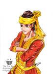 King Tabin Tabinshwehti with Bayinnaung's post