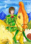 Aung Aung the knight with green suit