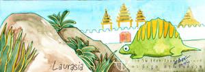 Dimetrodon in Myanmar