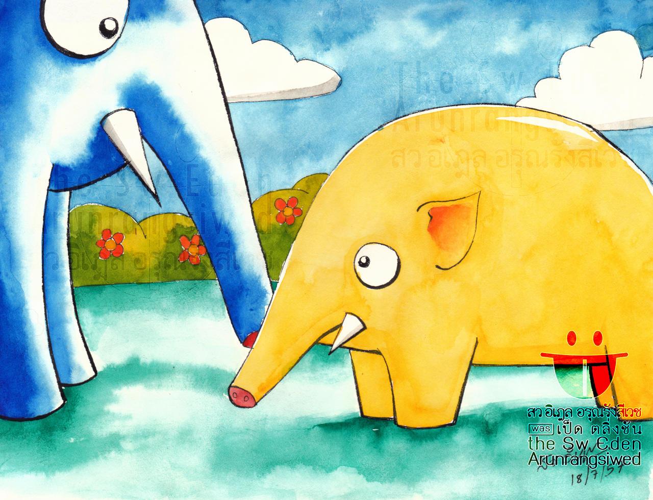 Yellow Potato Myanmar Elephant
