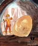 King Tabin Tabinshwehti found Egg