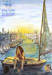 Swedish Girl on Sailboat