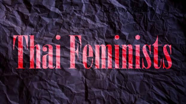 Thai Feminist Logo designed for Facebook Page