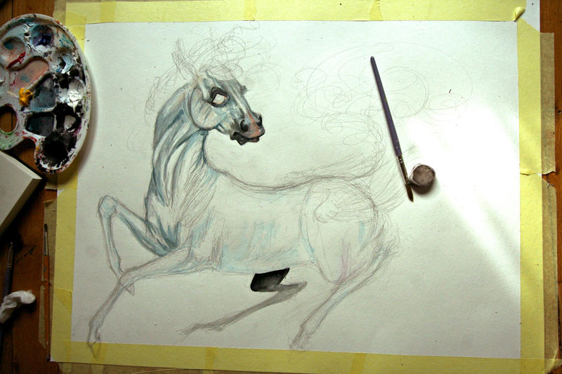 Afactorielle White_horse__wip__by_chou_croutte-d83ikdk