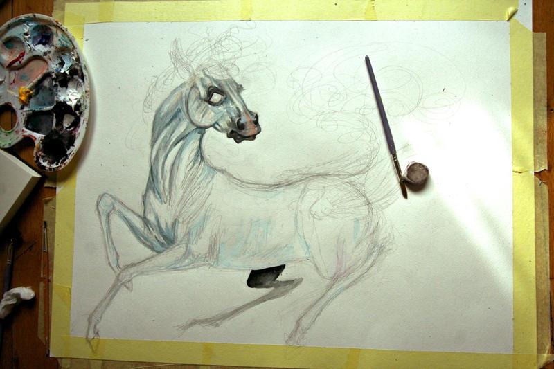 Afactorielle White_horse__wip__by_chou_croutte-d83ikdk