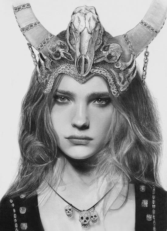 fantasy portrait by Aeriz85