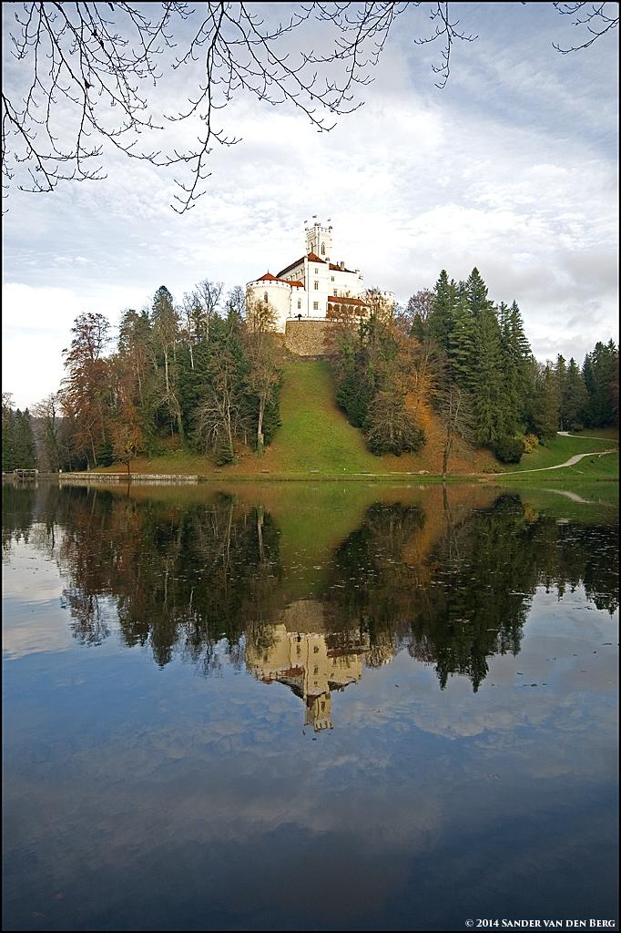 Reflecting Castle by sandervandenberg