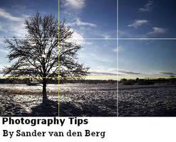 Photography Tips V1 by sandervandenberg