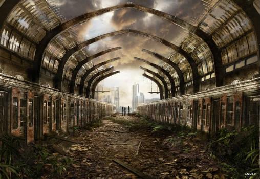 Athens Piraeus Train Station