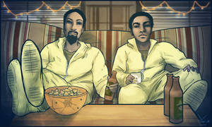 Breaking Community: Abed White and Troy Pinkman