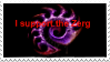 I Support Zerg Stamp by TheBlackAngel07
