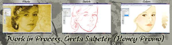 WIP- Greta Salpeter by KateZivi