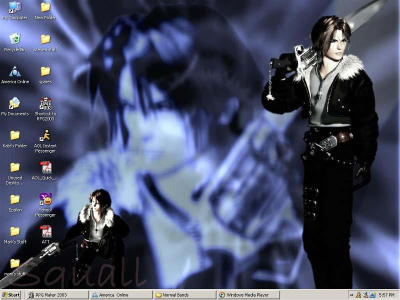 Squall by KateZivi