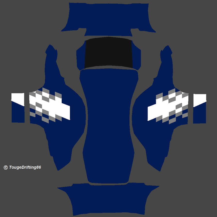 Ford Fusion Template By TougeDrifting85 On DeviantArt