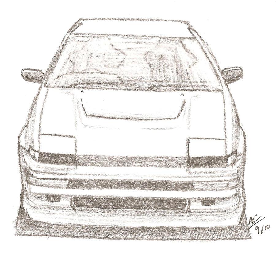 Toyota Sprinter Trueno AE86 By TougeDrifting85 On DeviantArt