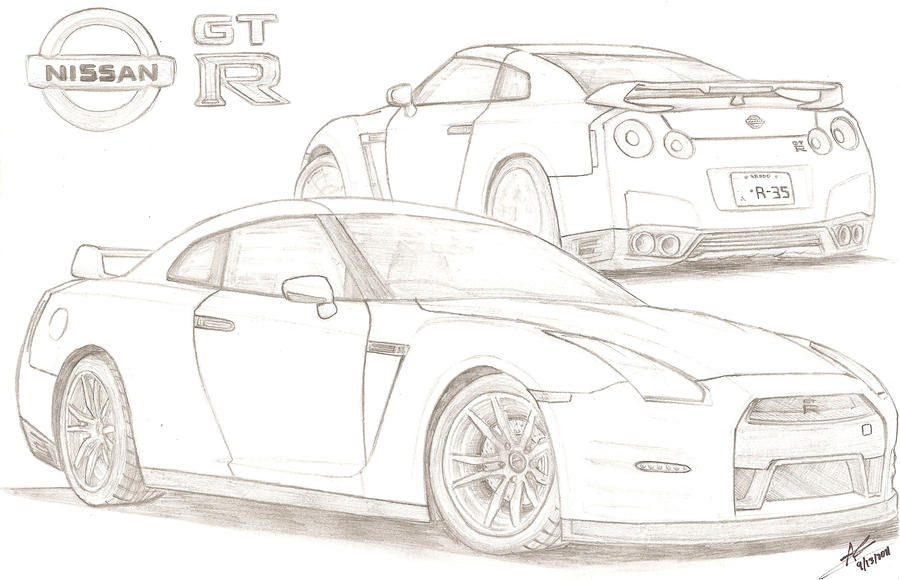 2012 Nissan GT-R by TougeDrifting85 on DeviantArt