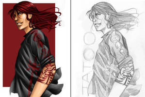 red tatoo by flo-moshi