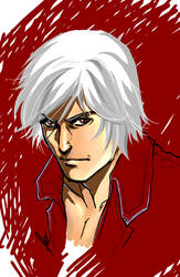 quick dante-devil may cry- by flo-moshi