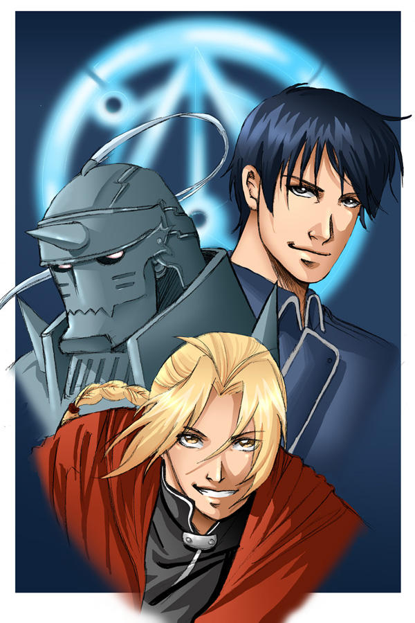 full metal alchemist by flo-moshi