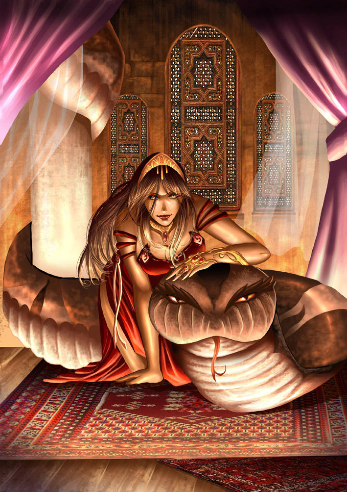 girl_with_a_snake_by_flo_moshi.jpg