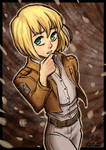 Giveaway 2nd Place: Armin Arlert (with Speedpaint)