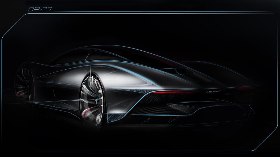 McLaren BP23 Rear Teaser by CarreraX