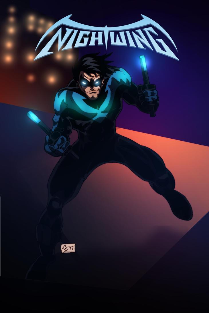 Nightwing by chadder96
