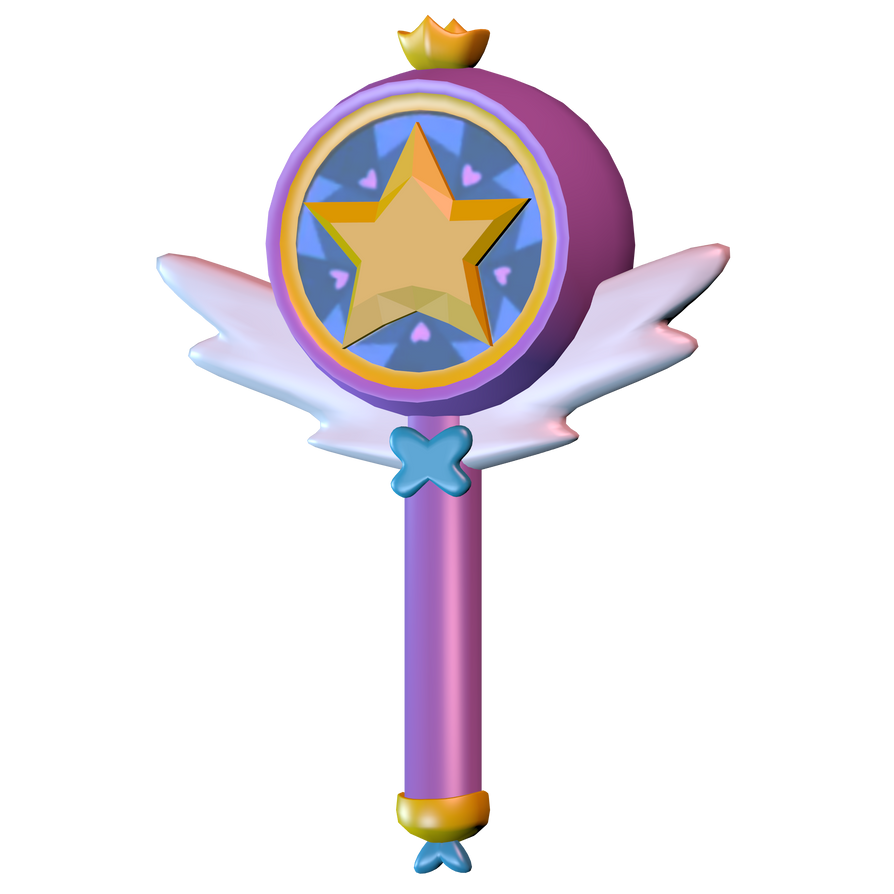 star butterfly 39 s wand model by theimperfectanimator on deviantart. Black Bedroom Furniture Sets. Home Design Ideas
