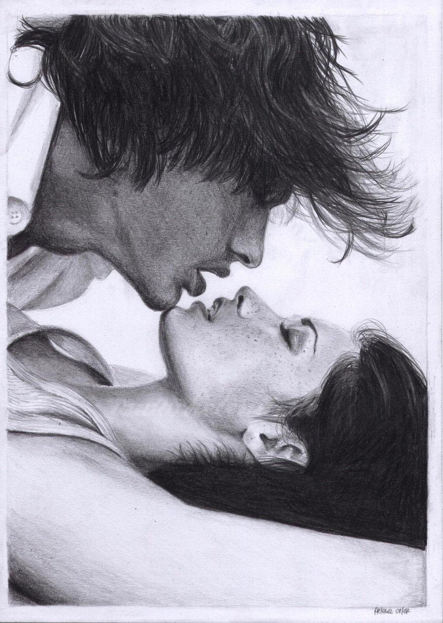 Поцелуи в писке 7 фотография