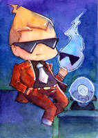 ACEO.o1. Sissel by Elixiate